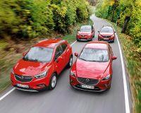 Компактни SUV модели на Mazda, Opel, Peugeot и Renault