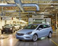 Opel Astra Sports Tourer: Начало на производството